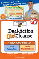 Dual Action Diet Cleanse can help restore your natural internal balance.